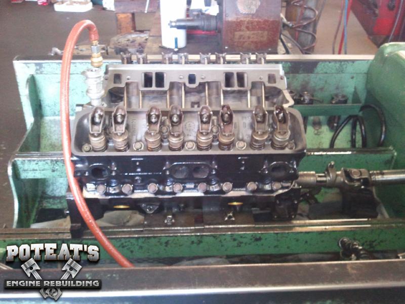 350 Chevy TBI Motor