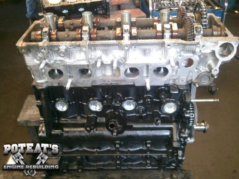rebuilt Toyota 2.7 motor