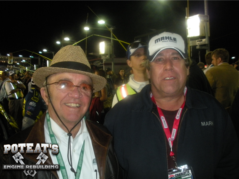 Jack Roush with Mark and Andrew Poteat