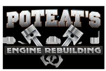 Poteat's Engine Rebuilding Logo